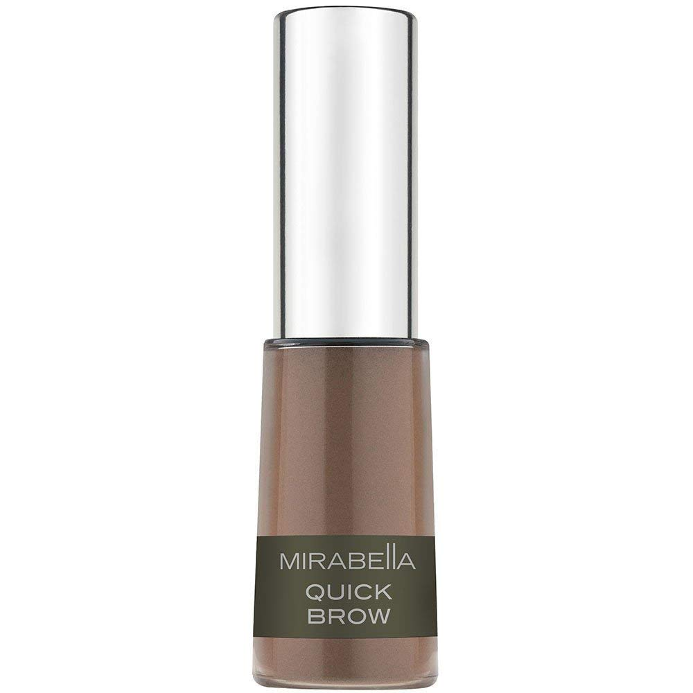 Mirabella Quick Brow Powder Filler for Eyebrows - Medium/Dark, 3g/0.11oz