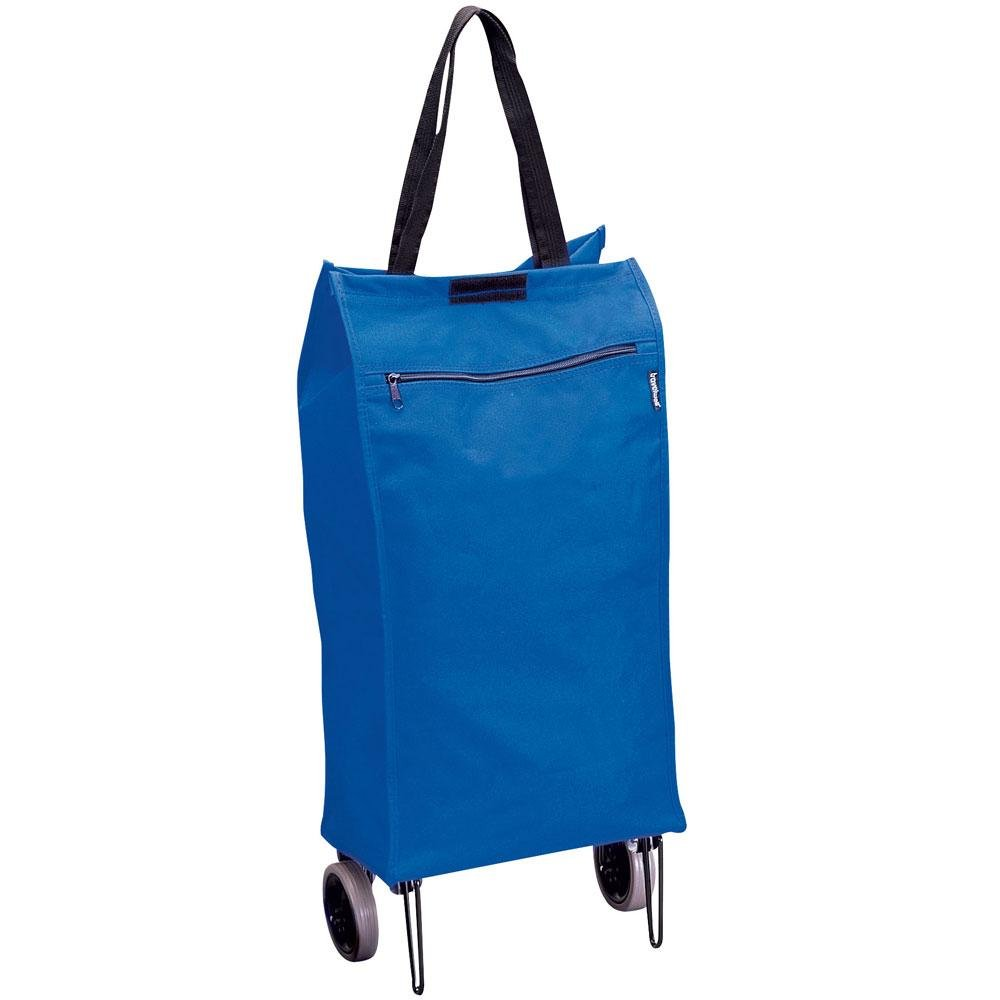 Preferred Nation 1160A Shopping Cart Travel Totes, One Size, Blue