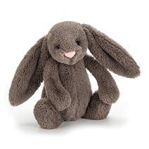 Jellycat Bashful Truffle Bunny Stuffed Animal, Medium, 12 inches