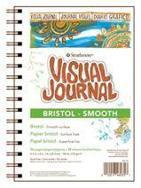 "Strathmore 300 Series Visual Bristol Journal, 9""x12"" Smooth, Wire Bound, 28 Sheets"