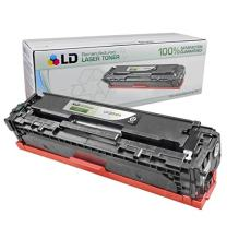 LD Remanufactured Toner Cartridge Replacement for HP 125A CB540A (Black)