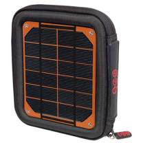 Voltaic Systems Milliamp Portable Solar Charger with Battery Pack (6,400mAh) - Orange
