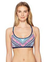 JAG Women's Chevron Geo Multi-Strap Bikini Top
