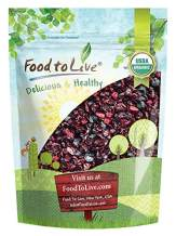 Organic Mixed Berries, 2 Pounds — Non-GMO Dried Blueberries, Cranberries, and Montmorency Tart Cherries, Kosher, Lightly Sweetened, Unsulfured, Bulk