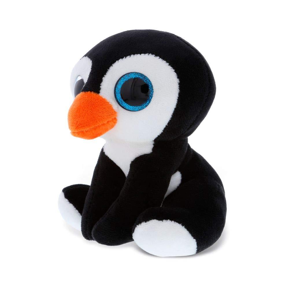 Dollibu Sparkling Big Eye Penguin Wild Stuffed Animal Soft Plush Collection, Storytime Buddy, Antarctic Snow Penguin Plushie Figure, Peekaboo Critters Nursery Baby Toys for Girls & Boys -Small Penguin