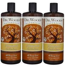 Dr. Woods Pure Almond Castile Soap 32 oz (Pack of 3)