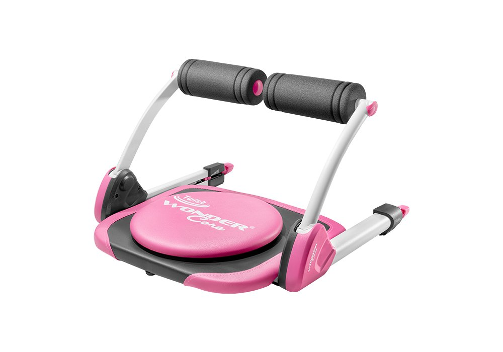Wonder Core Twist : Core Strength Training + Weight Loss - Multi-Workout Abdominal Machine - Portable - Oblique Exercises Core Muscles Exercises | two Color with Original Training App & Exercise Guide