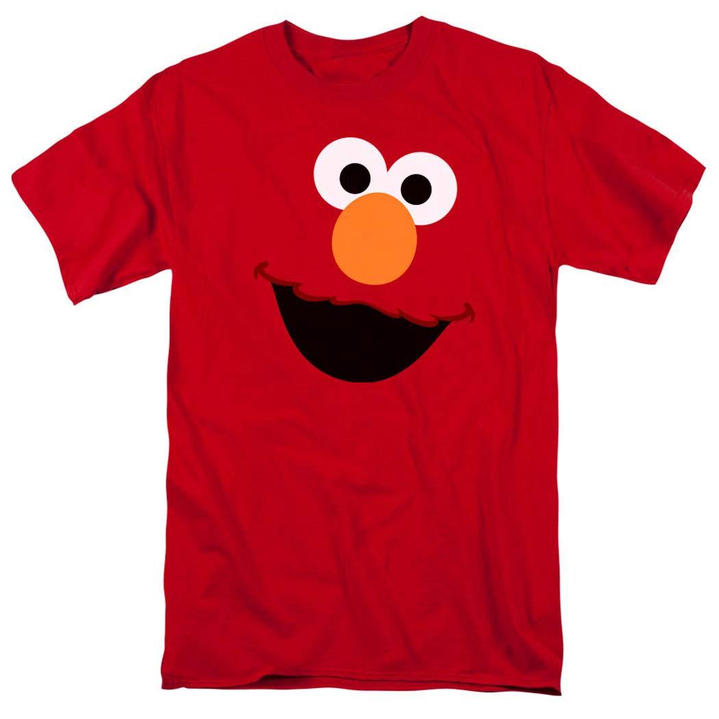 Sesame Street Elmo Face T Shirt & Stickers