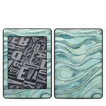 Waves Amazon Kindle Paperwhite 2018 Full Vinyl Decal - No Goo Wrap, Easy to Apply Durable Pro