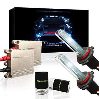 2 Year Warranty XtremeVision 55W AC Xenon HID Lights with Premium Slim AC Ballast 9006 30000K 30K Deep Blue