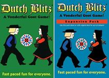 Dutch Blitz Original and Expansion Pack Set Card Game