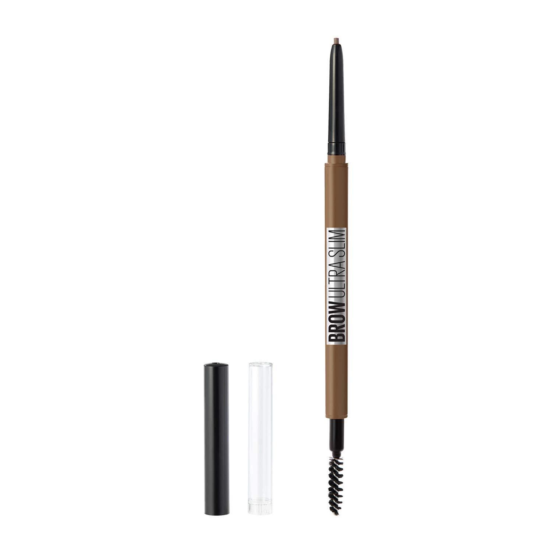 Maybelline New York Brow ultra slim defining eyebrow pencil, 255 Soft Brown, 0.003 Ounce