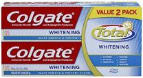 Colgate Total Whitening Toothpaste Twin Pack - 6 Ounce (Pack of 2)