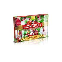 Winning Moves Christmas Monopoly Board Game