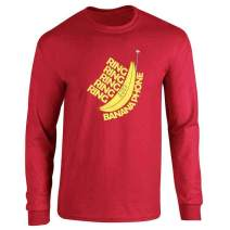 Ring Ring Banana Phone Full Long Sleeve Tee T-Shirt