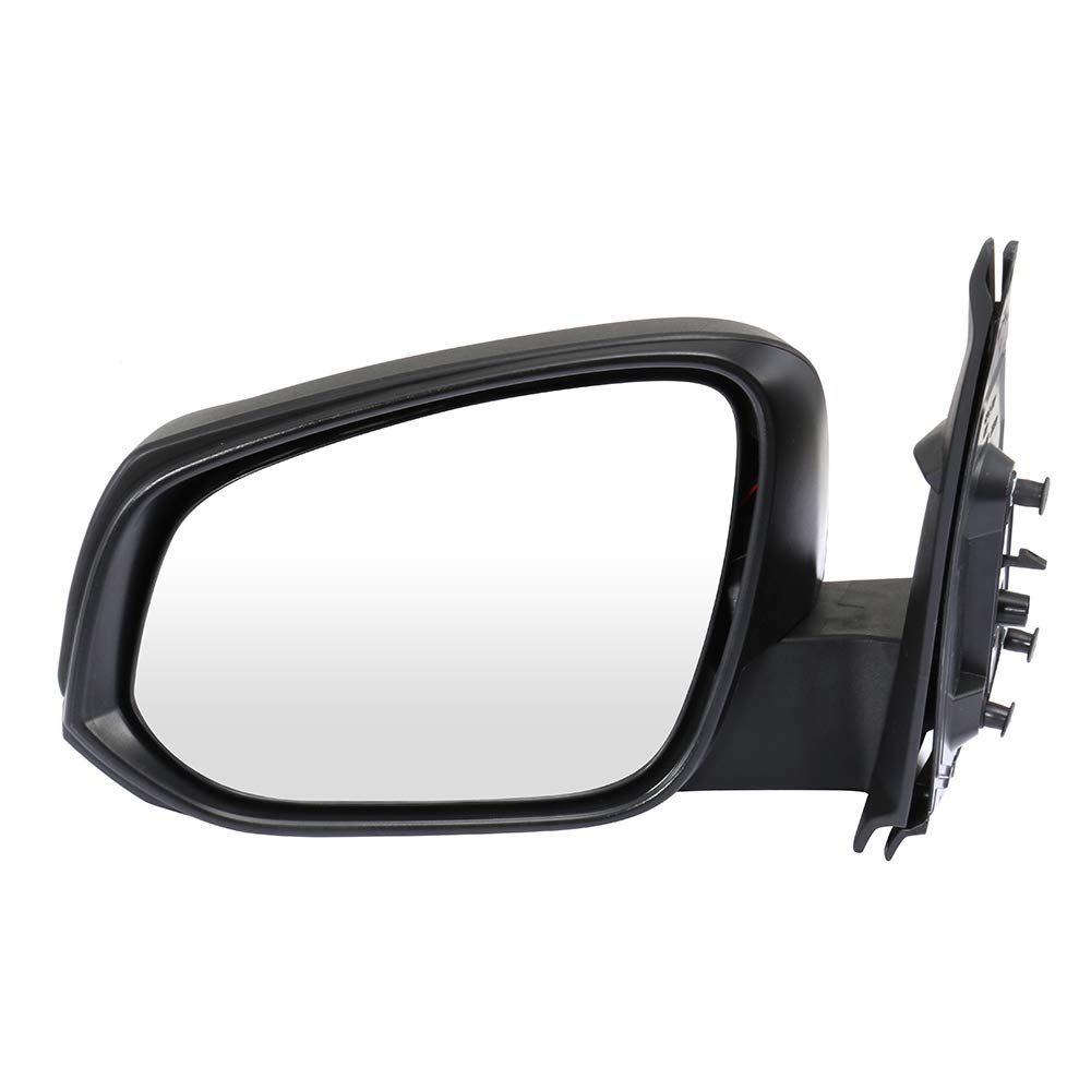 ECCPP Driver Side Mirrors, Left Side Rear View Mirrors Power Adjustment Heated Manua Folding Replacement fit for 2016 2017 2018 Toyota Tacoma