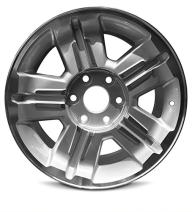 Road Ready Car Wheel for 2007 Chevy Avalanche Silverado 1500 18 Inch 6 Lug Aluminum Rim Fits R18 Tire - Exact OEM Replacement - Full-Size Spare