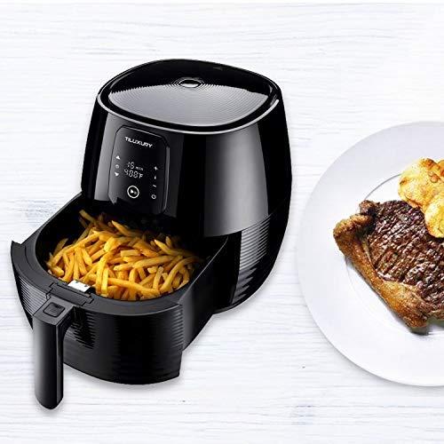 XL 5.8 Quart Electric Hot Air Fryers Oven Oilless Cooker with Recipe Books,LED Digital Touchscreen,Oilless Air Fryer,Air Fryers,Extra Large Capacity, Hot Air Fryers XL