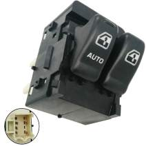 Automotive-leader 10387305 Power Master Window Switch for 2000-2005 Chevy Venture 2000-2004 Oldsmobile Silhouette 1999-2005 Pontiac Montana 10419308 10409722 901-025 SW3797 2-Button Front Left Driver