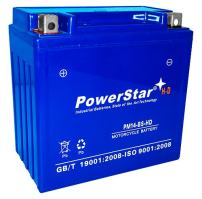 New Sealed AGM 14-BS PowerStarHD Battery For Shiver 750 US Stock -2Yr Warranty-