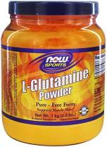 NOW Foods - L-Glutamine Powder 100% Pure - Free Form (1 kg) - 35.3 oz.