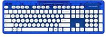 PDP Rock Candy Wireless Keyboard - Blueberry Boom (904-005-NA-BL)