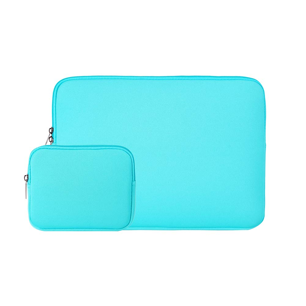 RAINYEAR 13 Inch Laptop Sleeve Protective Case Bag with Accessories Pouch, Specially Compatible with 2018 2019 New Model 13.3 MacBook Air/Pro/Retina/TouchBar A1932 A1706 A1708 A2159 A2179(Blue)