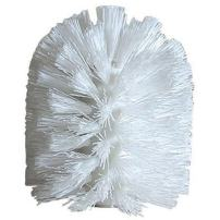 """iDesign Plastic Replacement Toilet Brush Head for Master, Guest, Kid's Bathroom, 3.25"""" x 3.25"""" x 4"""", White"""