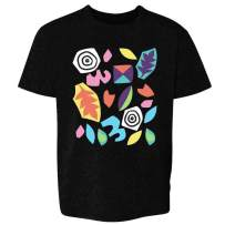 Bright Abstract Stranger Pattern 80s Costume Youth Kids Girl Boy T-Shirt