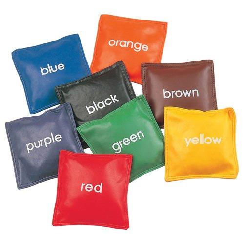 Champion Sports 5 Inch Colored Bean Bag Set