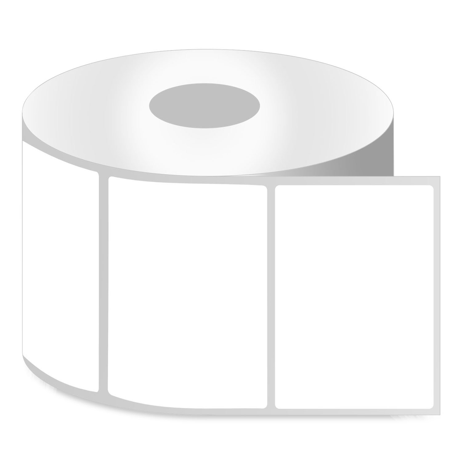 Zebra Compatible Direct Thermal Removable Labels Barcodes 1.5 x 1 in, 10 Rolls
