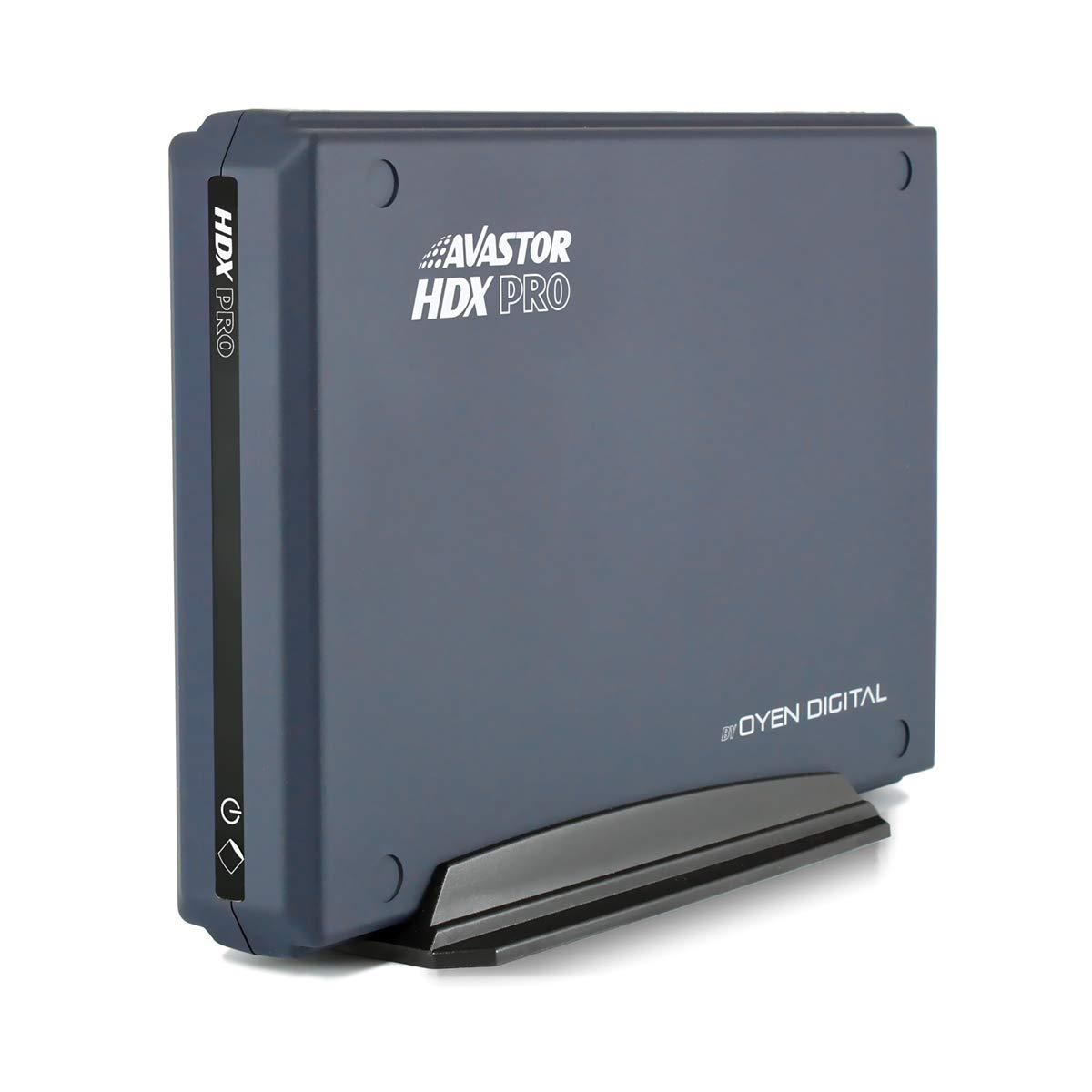 Avastor HDX Pro 12TB USB-C External Hard Drive w/LockBox