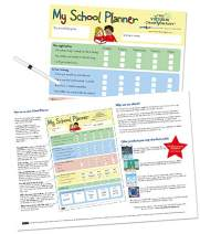 My School Planner Supporting Children with The Transition and Readiness for Elementary School for 4yrs+. Encouraging Routine and Independence (17 x 11 inches)