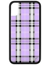Wildflower Limited Edition Cases for iPhone X and XS (Lavender Plaid)