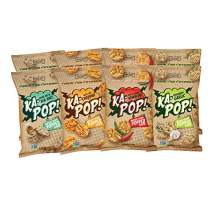 Ka-Pop! Popped Chips, Variety Pack (3.25oz, Pack of 8) - Allergen Friendly, Sorghum, Gluten-Free, Paleo, Non-GMO, Vegan, Whole Grain Snacks, As Seen on Shark Tank