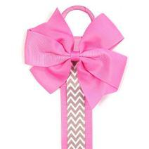 ALLYDREW Long Ribbon Hair Clip Holder & Hair Bow Organizer