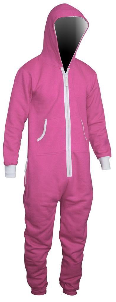 SKYLINEWEARS Men's Onesie Playsuit Unisex Jumpsuit Small Pink
