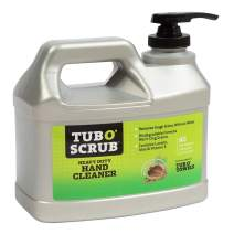 Tub O Towels Tub O Scrub TS28 Heavy Duty Pumice-Free Hand Cleaner, Removes Tough Grime & Dirt Without Water, Biodegradable, 128oz (1 Gallon) Jug