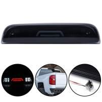 3D LED Bar 3rd Third Tail Brake Light For Chevy Silverado GMC Sierra 1500 2500 HD 3500 HD 2014 2015 2016 2017 2018 Rear Cargo Lamp High Mount Stop light Black Housing
