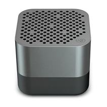 JLab Audio Crasher Micro Wireless Bluetooth Speaker | Bluetooth 2.1 | 18 Hour Battery Life | Water Resistant & Dust Resistant | USB + AUX Backup Available | Gunmetal
