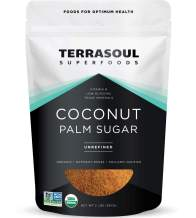 Terrasoul Superfoods Organic Coconut Sugar, 2 Lbs - Low Glycemic | Unrefined | Trace Minerals