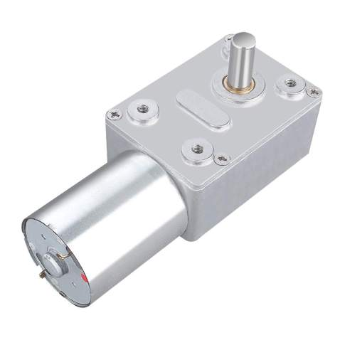 DC 12V Electric Motor Reversible High Torque Turbo Worm Gear Box Reduction Electric Motor(20RPM)