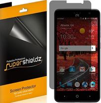 (2 Pack) Supershieldz (Privacy) Anti Spy Screen Protector Shield for ZTE Grand X4 (Grand X 4)