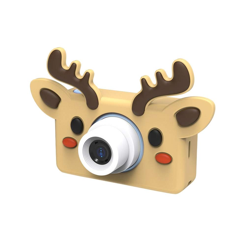 SK Studio Kids Digital Video Camera 16.0MP Shockproof Selfie Camera Child Camcorder for 5-9 Age Boys and Girls Toys Gift (32GB Memory Card Included) Elk