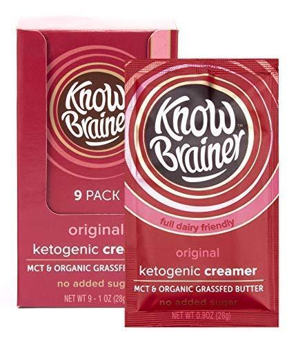 Know Brainer Original Coffee Creamer, Keto, Mct Coconut Oil, Organic Grass Fed, Non Gmo