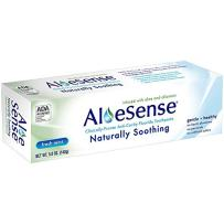 AloeSense Naturally Soothing Fluoride Toothpaste, Fresh Mint, 5 oz (1 Count)