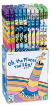 Raymond Geddes Dr. Seuss Oh the Places You'll Go Pencil Set (Pack of 72)