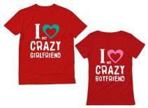 Girlfriend & Boyfriend Funny Matching Couples T-Shirts