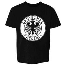 Germany Soccer Retro National Team Crest Costume Toddler Kids Girl Boy T-Shirt