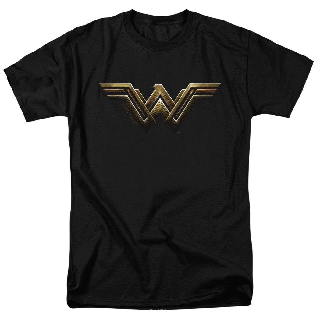 Justice League Movie Wonder Woman Logo DC Comics T Shirt & Stickers
